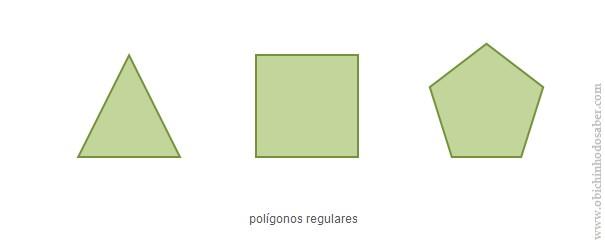 polígonos regulares Matemática 5º | I Sólidos Geométricos   1. Polígonos