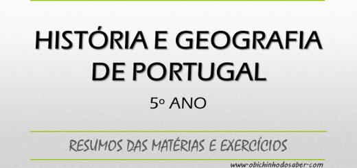 História e Geografia de Portugal 5º ano