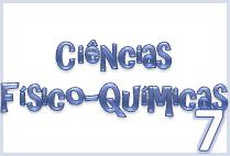 ciências físico-químicas 7