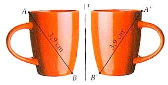 reflexão Matemática 6º | Noção e propriedades da reflexão, da rotação e da translação