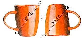 rotação Matemática 6º | Noção e propriedades da reflexão, da rotação e da translação