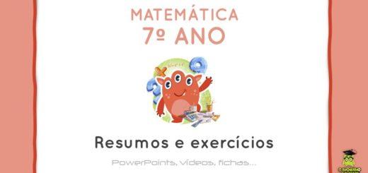 Materia De Matematica Do 6º Ano Resumos E Exercicios
