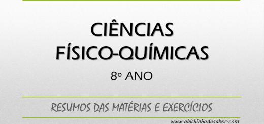 Ciências Físico-Químicas 8º ano