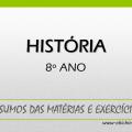 História 8º ano
