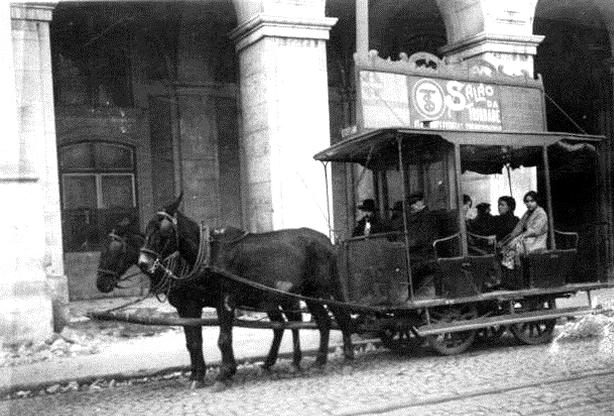 Neste dia, 18 de setembro: Fundação da Companhia Carris de Ferro de Lisboa