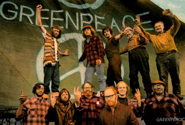 Neste dia, 15 de setembro: Fundação da GreenPeace