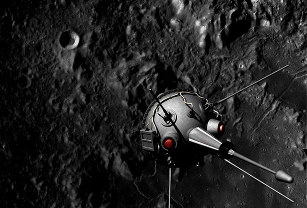 Neste dia, 14 de setembro: A sonda soviética Luna 2 chega à Lua
