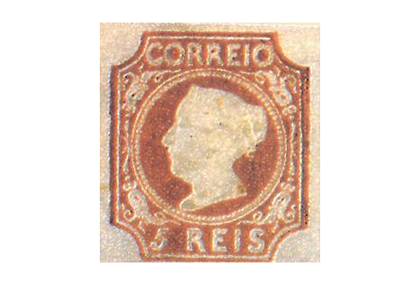 1º selo adesivo português