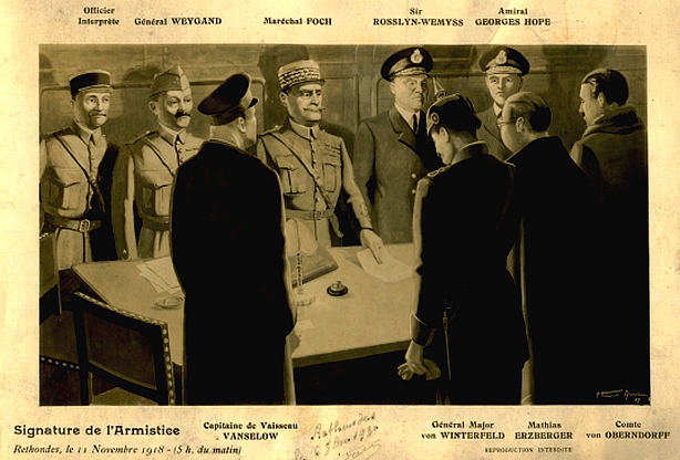 armisticio de 1918