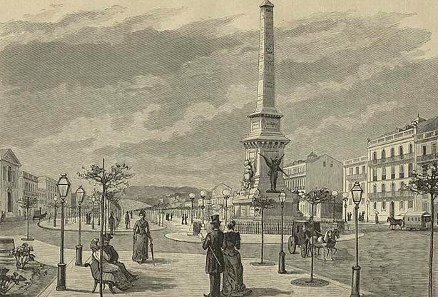 Neste dia, 28 de abril: Inauguração da Avenida da Liberdade
