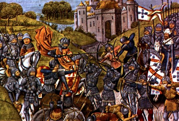 Neste dia, 2 de abril: Tratado de Salvaterra de Magos