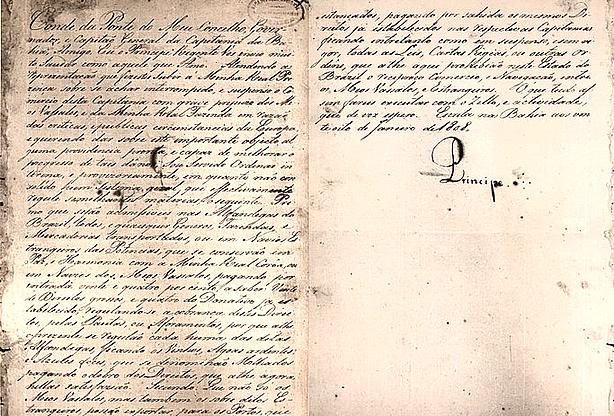 Neste dia, 28 de janeiro: Decreto de Abertura dos Portos às Nações Amigas
