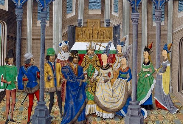Neste dia, 2 de fevereiro: Casamento de D. João I com Filipa de Lencastre