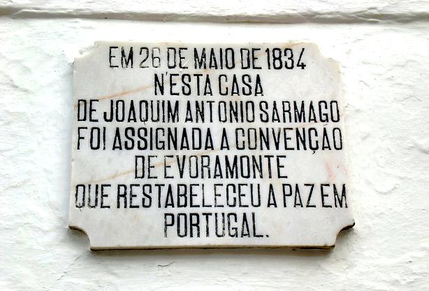 Neste dia, 26 de maio: Convenção de Évora Monte