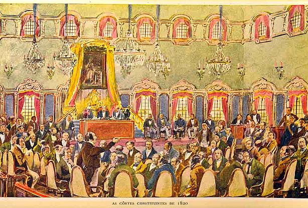 Neste dia, 23 de setembro: Constituição de 1822