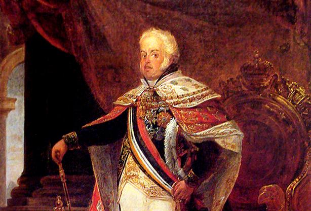 Neste dia, 10 de fevereiro: Regência de D. João VI