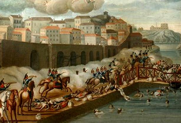 Neste dia, 29 de março: Desastre da Ponte das Barcas