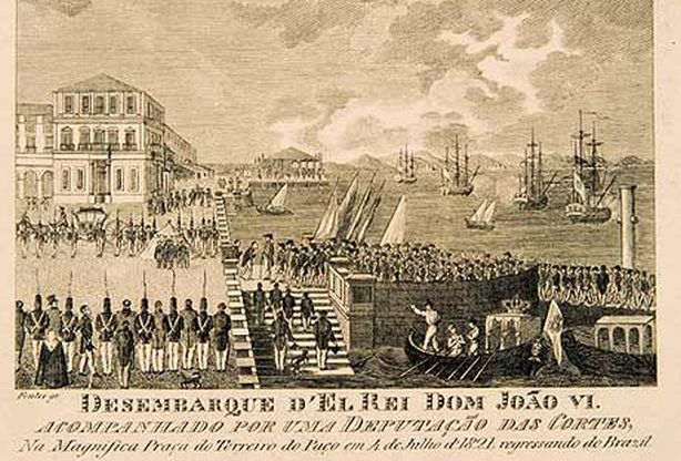 Neste dia, 3 de julho: O regresso da corte portuguesa a Portugal