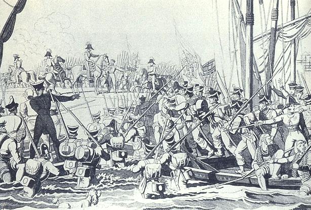 Neste dia, 8 de julho: Desembarque do exército liberal em Pampelido