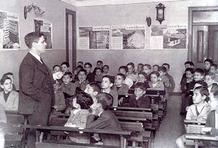 ensino primário masculino.