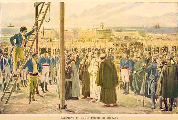 execução de gomes freire de andrade