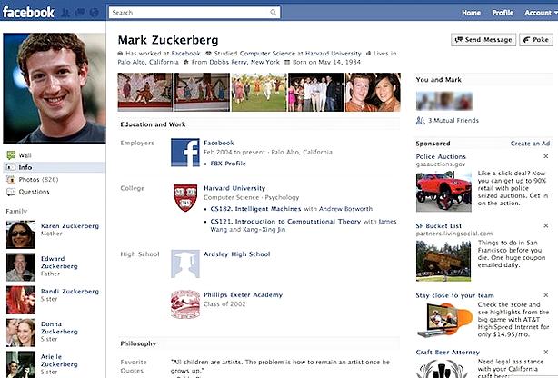 Neste dia, 4 de fevereiro: Fundação do Facebook