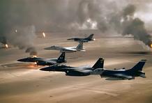 guerra do golfo.