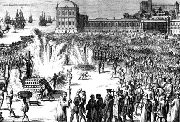 Neste dia, 23 de maio: Estabelecimento da Inquisição em Portugal
