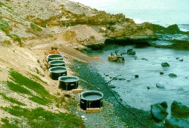 Neste dia, 16 de janeiro: Maré negra atinge as costas de Porto Santo, Madeira