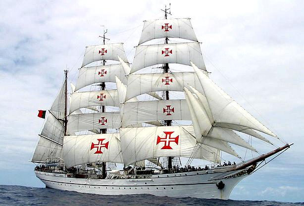 Neste dia, 8 de fevereiro: Incorporação do navio Sagres na Marinha Portuguesa
