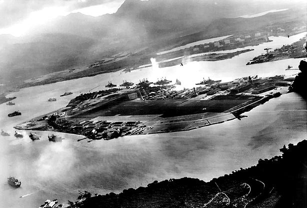 Neste dia, 7 de dezembro: Ataque a Pearl Harbor