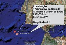 sismo de 12 de fevereiro 2007.