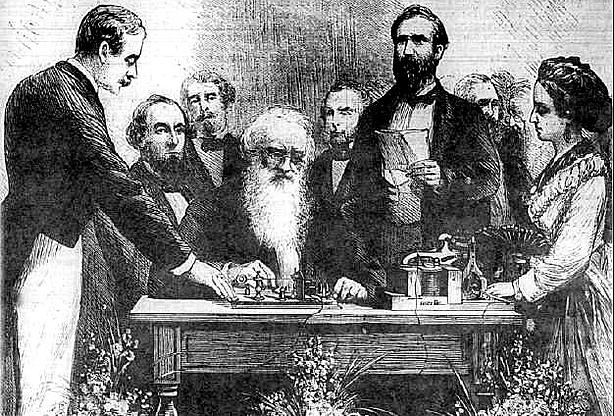 Neste dia, 6 de janeiro: Primeira demonstração do telégrafo
