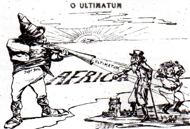 Neste dia, 11 de janeiro: Ultimato Inglês