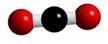 molécula de dióxido de carbono