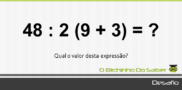 Desafio 2: Qual é o valor desta expressão?