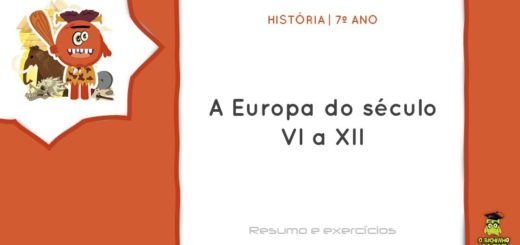 A Europa do século VI a XII