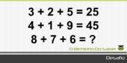 Desafio 5: Qual o valor desconhecido?