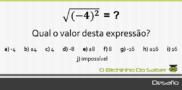 Desafio 6: Qual o valor desta expressão?